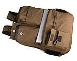 Текстильный мужской рюкзак  9021B, фото 5