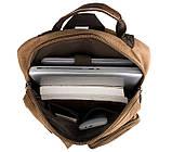 Текстильный мужской рюкзак  9021B, фото 9
