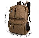 Текстильный мужской рюкзак  9021B, фото 10