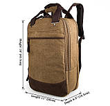 Городской мужской качественный рюкзак  9028C, фото 2