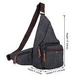 Чоловіча сумка через плече 9033A, фото 9