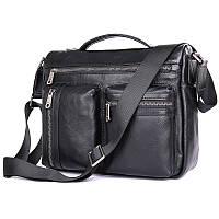 Удобная мужская кожаная сумка 1019A, фото 1