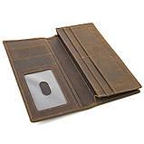 Кожаный мужской кошелек R-8167R, фото 4