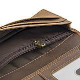 Кожаный мужской кошелек R-8167R, фото 5