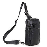 Кожаный рюкзак-сумка 4002A, фото 1