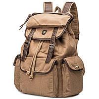 Рюкзак канвас бежевый ID005-YO, фото 1