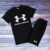 Мужская футболка Андер Армор черная (копия), фото 1