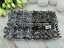 Крабы для волос 6.5 см пластик 12 шт/уп., фото 2