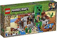 Конструктор LEGO Лего Шахта Крипера Майнкрафт Minecraft The Creeper Mine 21155 оригинал