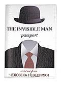 Дизайнерская обложка для паспорта с эко кожи art.103038