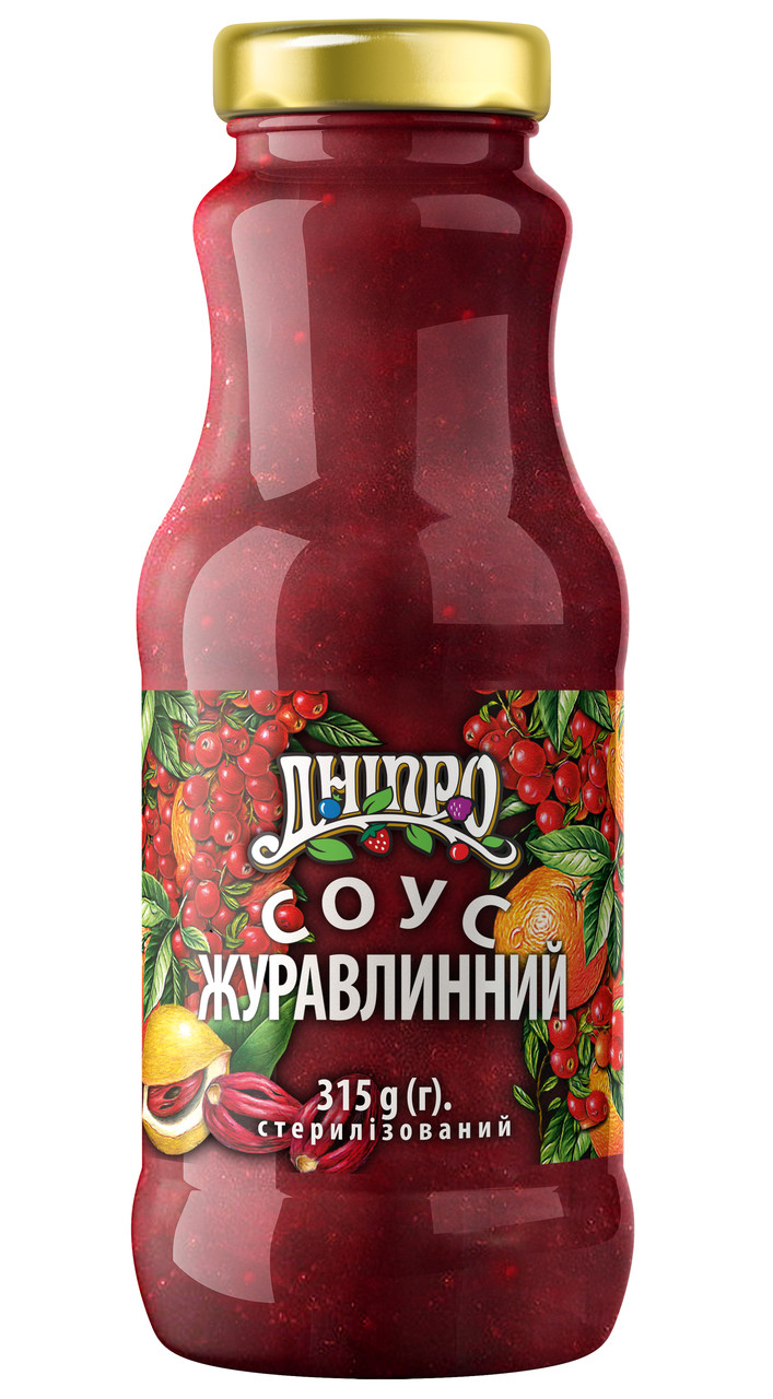 """Соус """"Клюква"""" 315г"""