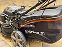 Газонокосилка бензиновая Grunhelm S461 LUX Самоходная с электростартом, фото 9