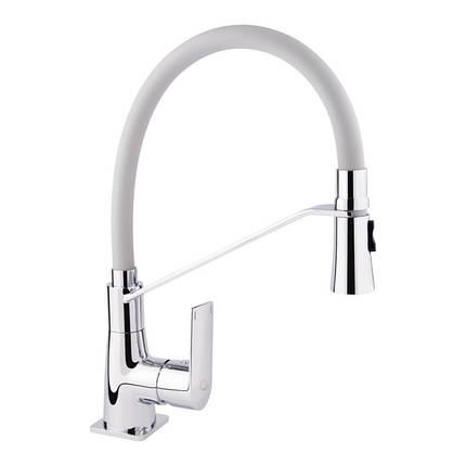 Смеситель для кухонной мойки Q-tap Estet CRG 007F, фото 2