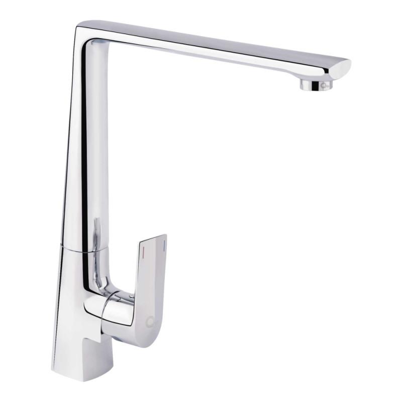 Смеситель для кухонной мойки Q-tap Estet CRM 007F