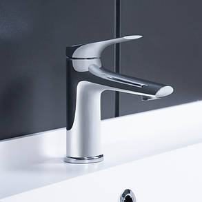 Смеситель для раковины для умывальник Q-tap Elegance CRM 001, фото 2