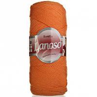 Пряжа Lanoso Bonito оранжевая