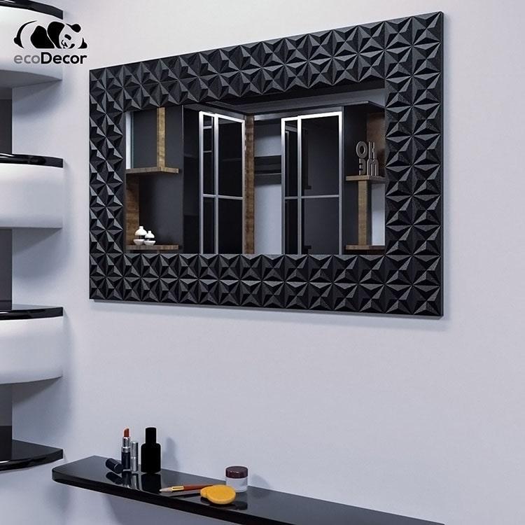 Зеркало в прихожую черное Daiano P1