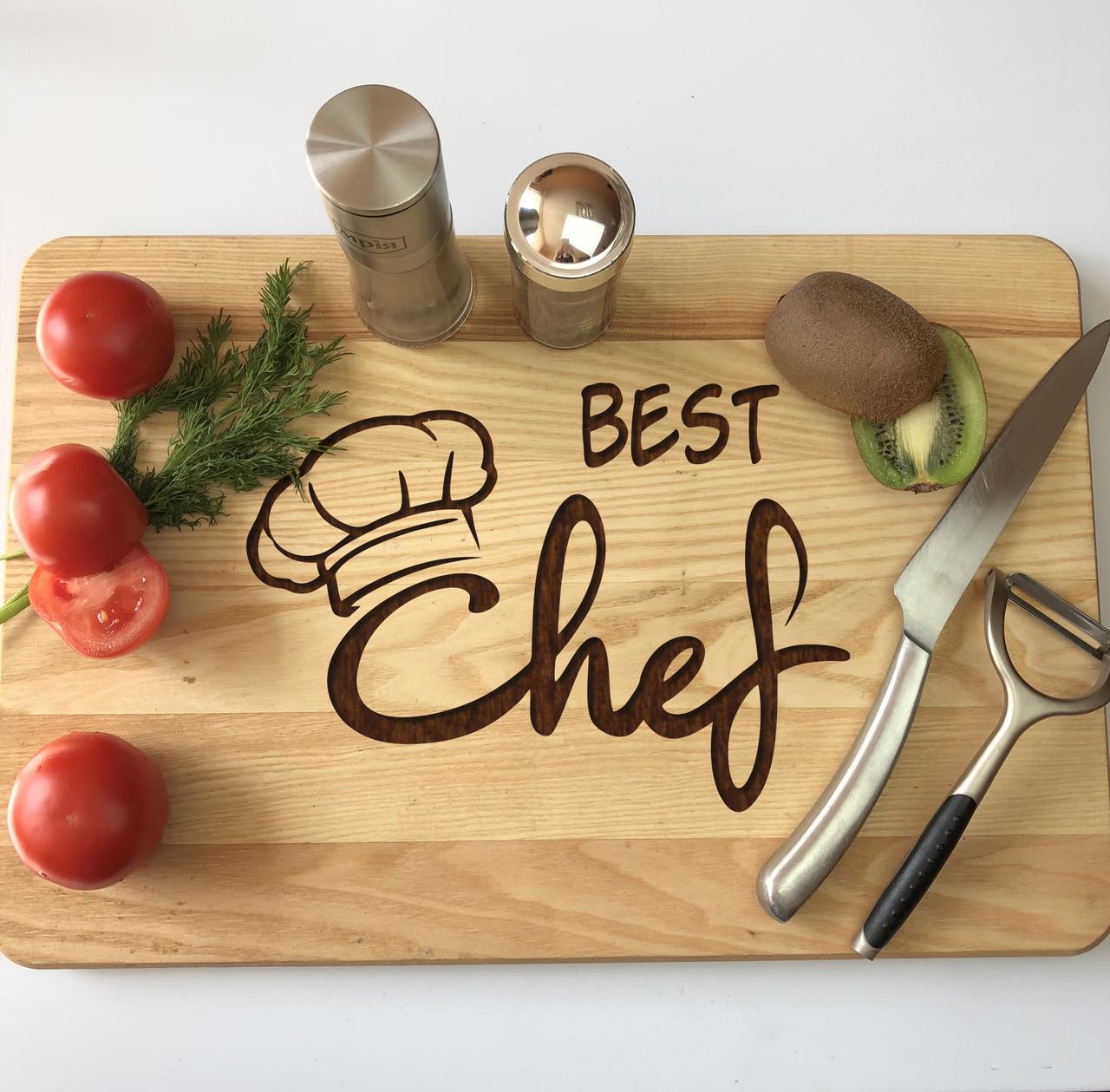 Кухонная доска из дерева «Best Chef» 40 х 25 см