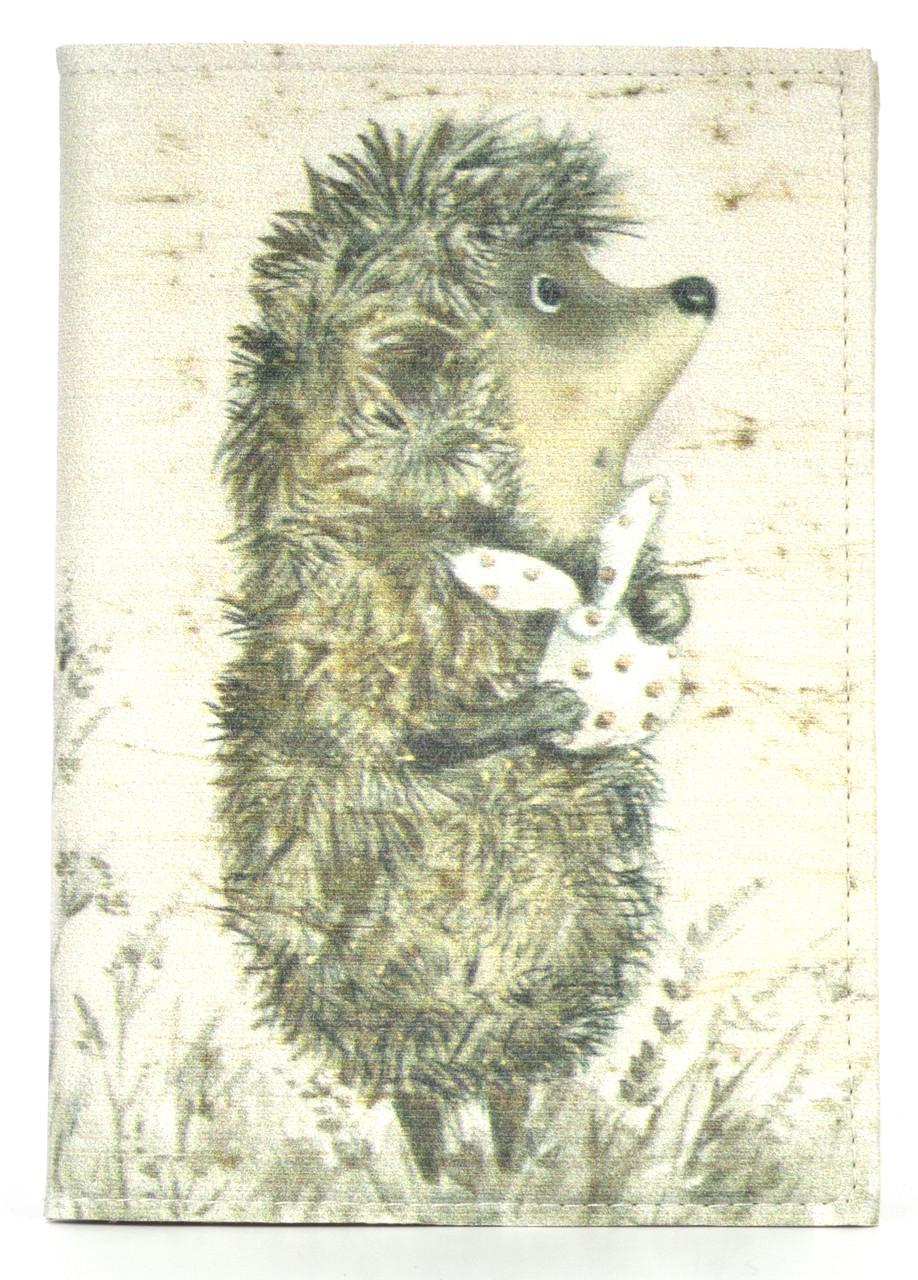Дизайнерская обложка для паспорта с эко кожи art.103733
