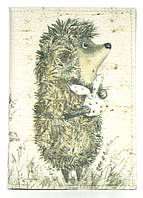 Дизайнерська обкладинка для паспорта з еко шкіри art.103733, фото 1