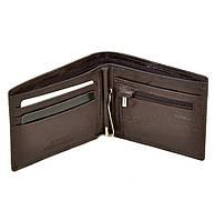 Портмоне кошелек с зажимом для банкнот натуральная кожа, фото 1