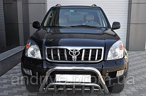 Кенгурятник двойной (защита переднего бампера) Toyota Land Cruiser Prado 120 2002-2009