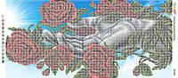 """Панно """"Гармония Природи II (част. виш)"""" для частичной вышивки бисером"""