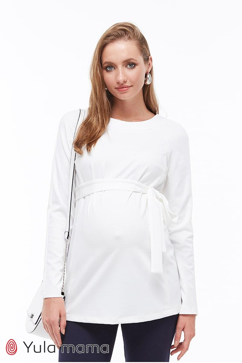 Туника для беременных и кормящих из трикотажа, размеры от 44 до 50