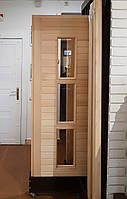 Двери для бани премиум-класса «Ночь Нью-Йорка»