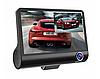 Автомобильный видеорегистратор на 3 камеры авторегистратор 1920x1080 p FULL HD (Арт. 0460)