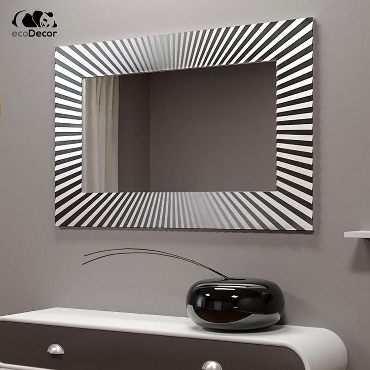 Зеркало в ванную серебряное Donato P1