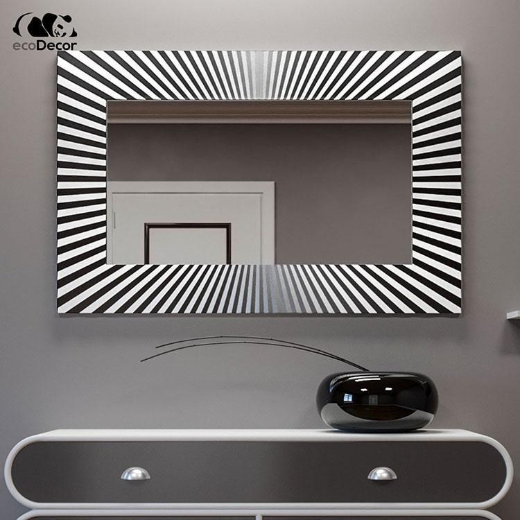 Зеркало в прихожую серебряное Donato