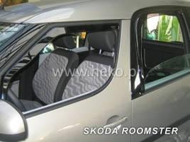 Дефлектори вікон (вітровики) Skoda RAPID SPACEBACK 2013R-> 4шт (Heko)