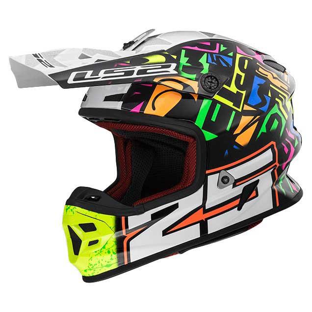 Шлем кроссовый LS2 MX456 PUNCH