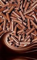 Посыпки из шоколада — Минирубочки молочные