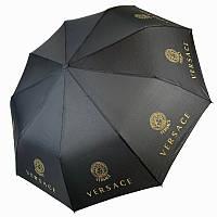"""Складной женский зонт полуавтомат с системой """"антиветер"""", """"Бренды"""" от MAX, черный, 515-33, фото 1"""