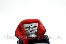 Беговые кроссовки в стиле Nike Air Zoom Shield Axis, Dark Blue\White\Red, фото 2
