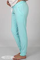 Комфортная пижама для беременных и кормящих, размеры от 44 до 48, фото 3