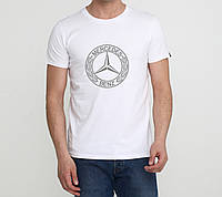 Футболка  Mercedes-Benz белая