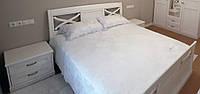 Спальный гарнитур (ясень, краска с патиной)