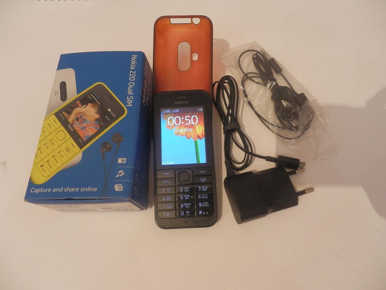 Мобильный телефон Nokia 220 №7367