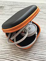 Чехол для наушников квадрат (оранжевый), фото 1