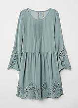 Світло-зелене плаття H&M