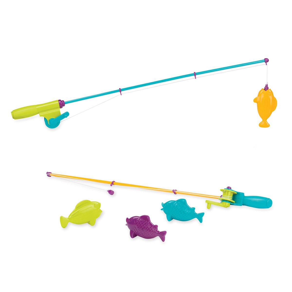 Игровой Набор - Магнитная Рыбалка new Battat Magnetic Fishing Set Fishing Game with 2 Magnetic Rods & 4 Fish