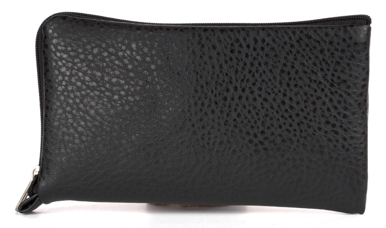 Удобный  чехол-футляр с кармашком для телефона на молнии ручная работа big  (103115)