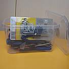 Органайзер 260х185х140 мм / Ящик для хранения / Контейнер  / Бокс  - 5 л с крышкой, фото 7