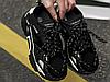 Жіночі кросівки Calvin Klein Black Strike 205 Leather 205W39NYC, фото 4