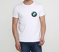 Футболка BMW белая