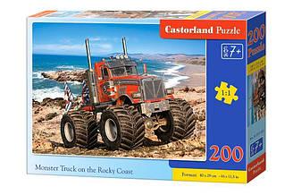 Пазлы Castorland Внедорожник на каменистом побережье 200 элементов
