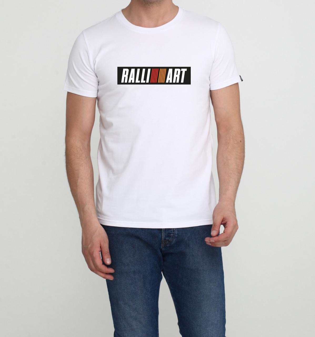 Футболка Mitsubishi RalliArt біла